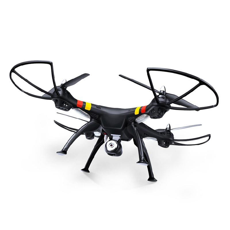 X8W FPV WIFI Real-time Transmission 2.4GHz 4CH 6-Axis Gyro 360-degree Eversion  RC Quadcopter with 2.0MP HD Camera  (Black)