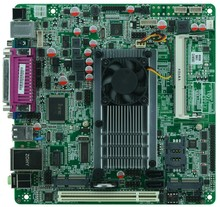 Cheap price industrial embedded MINI_ITX motherboard Itx_M58_D56L support Intel D525/1.80GHz dual core CPU with 8*USB/6*COM