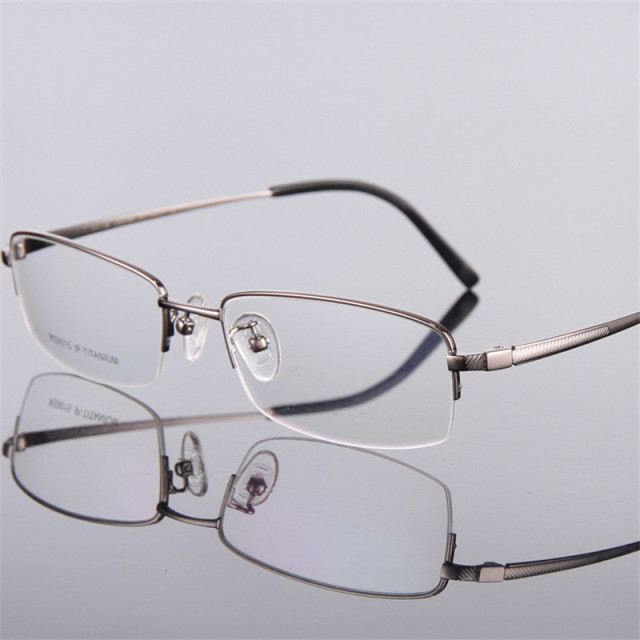 9e3d8636b87 Men s fashion eyeglass gold ultralight titanium frames eye glasses frames  for men optical frame Thin leg