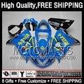 8Gift  For SUZUKI TL 1000R TL1000R 98 99 00 RIZLA 01 02 03 78JK57 TL 1000 R 1998 1999 2000 2001 2002 2003 RIZLA blue Fairing