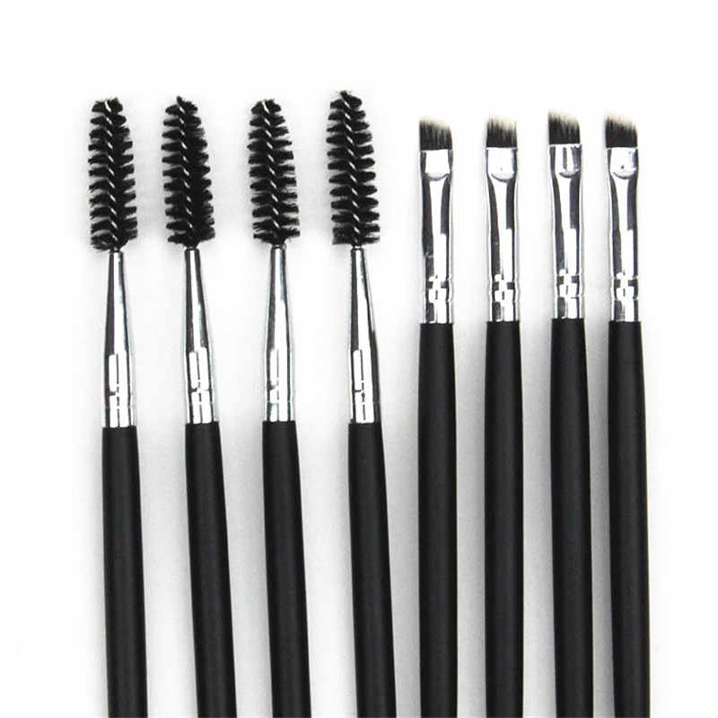 Professional Double-headed Eyebrow แปรงดินสอเขียนคิ้วแปรง 3 ขนาดไม้แปรงแต่งหน้า Eyelash Eyebrow Pinceis de maquiagem