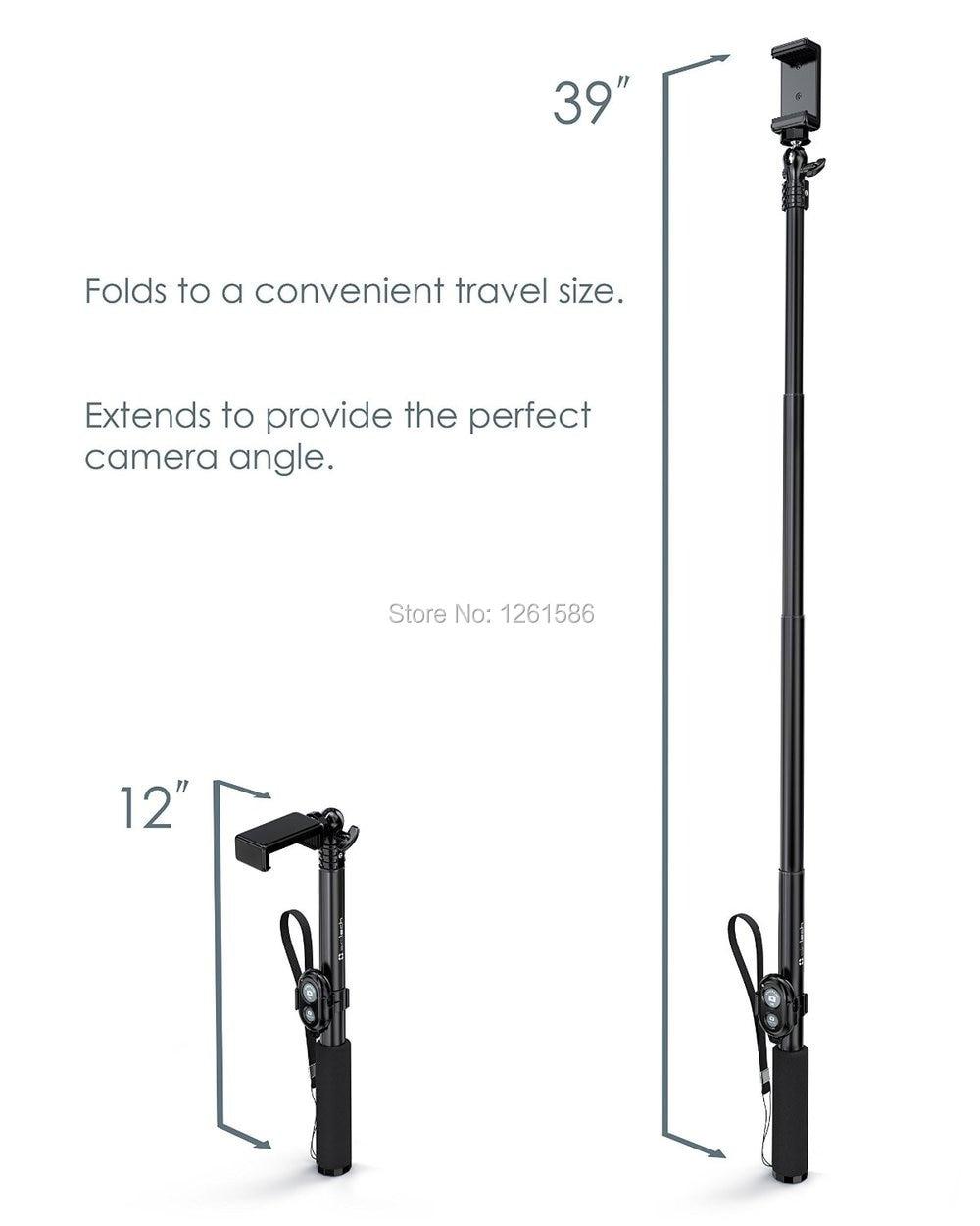 För Samsung S9 PLUS OBS S10 E / G4 Z2 Camera Photo Selfie Stick - Reservdelar och tillbehör för mobiltelefoner - Foto 3