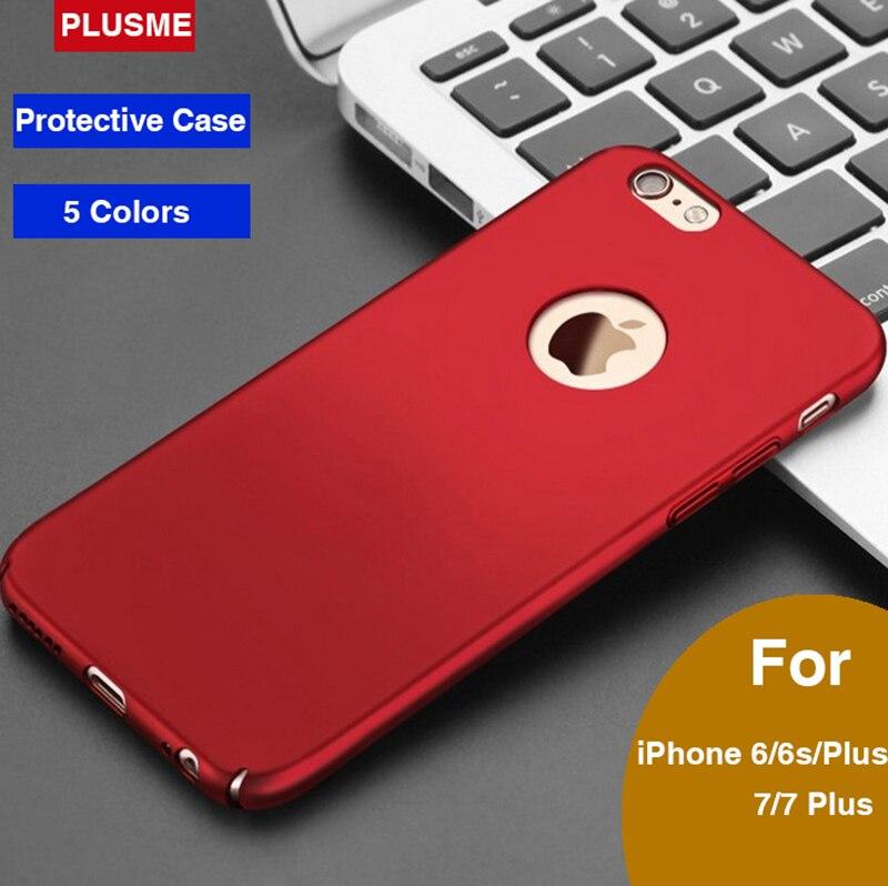 Cajas del teléfono móvil para iphone 6 6s 7 plusme 7 s y más casos 5 colores clá