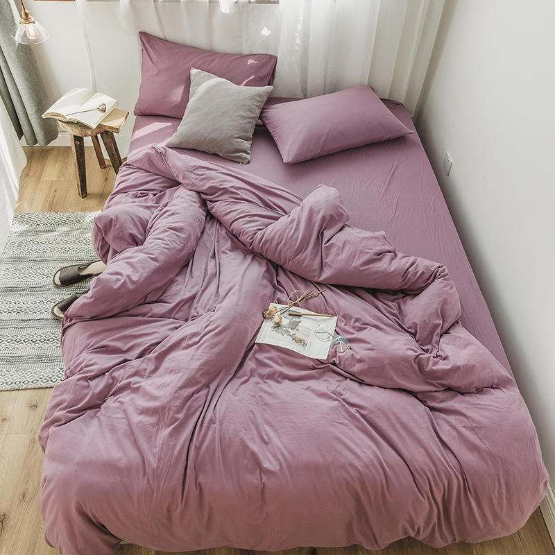 Twin Queen King size Pink Grey Bedding Set Kids Bed set Cotton Bed sheet Duvet Cover Fitted sheet parure de lit couvre lit deTwin Queen King size Pink Grey Bedding Set Kids Bed set Cotton Bed sheet Duvet Cover Fitted sheet parure de lit couvre lit de