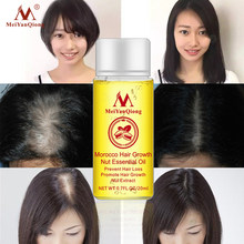 1 PCS Hair Growth Essence Hair Loss Liquid Natural Pure Nut Essential Oils Promote Hair Growth Serum Health Care Beauty Essences(China)