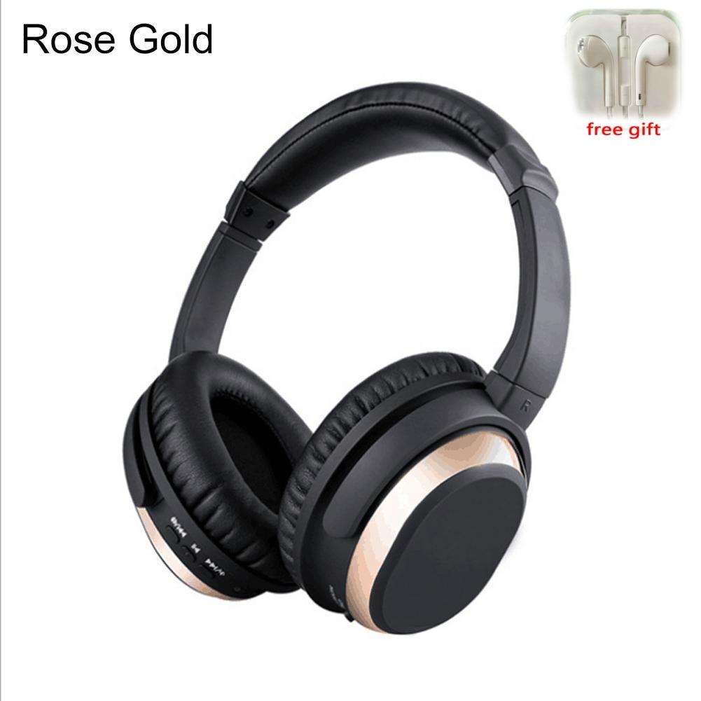 Active Noise Cancelling Bluetooth Hoofdtelefoon Met Mic Over Ear Draadloze Stereo Headset HiFi Diepe Bas Voor Werk Reizen TV PC telefoon