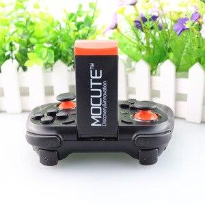 Image 5 - MOCUTE 050 mando de juegos de RV Android Joystick controlador Bluetooth Selfie mando con Control remoto Gamepad para PC teléfono inteligente + soporte