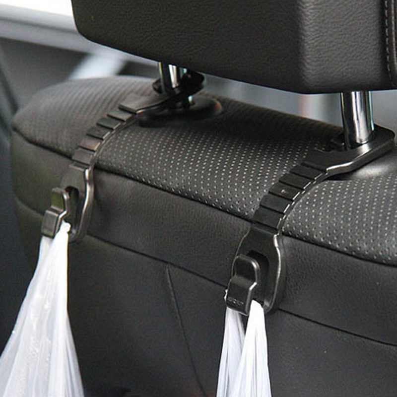Auto Fastener & Clip Interior Accessories 1 Pair Car Chair Back Hidden Multi-functional Hook Back Seat Creative Small Hook Gift Bags Organizer Hook Auto Accessories