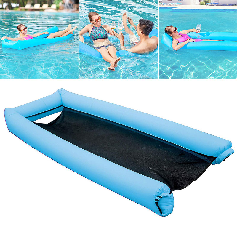 Able Creative Floating Chair Floating Bed 3 Color Pvc Water Hammock Floating Toys Swimming Pool Comfortable Swimming Accessories Sports & Entertainment