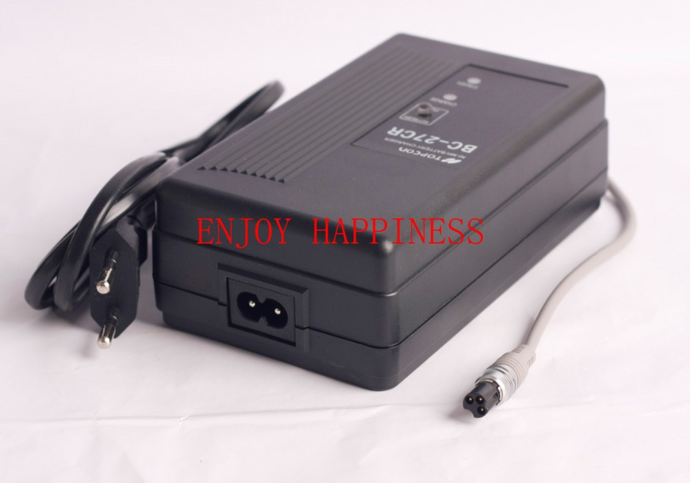 For Sale  BC-27CR CHARGER FOR TOPCON total station  BT-52Q BT-52QA Battery  3 PIN  цены
