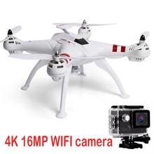 X16 rc kit completo com dron camrea GPS tinggi 500 meters fly drone quadcopter jarak wifi helikopter Brushless Motor Mainan