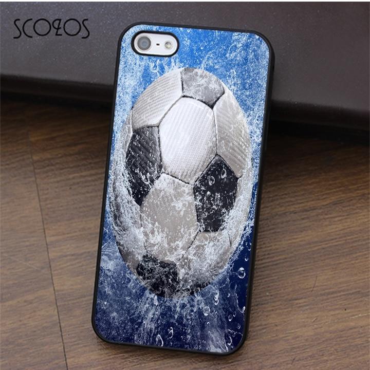 SCOZOS Football Soccer Ball (1) phone case for iphone X 4 4s 5 5s Se 5C 6 6s 7 8 6&6s plus 7 plus 8 plus #fa273