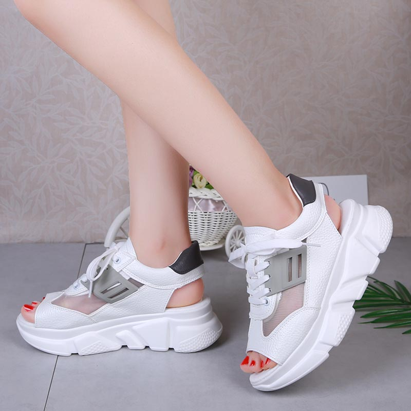 Women Sandals 2019 Summer Shoes Platform Sandalias Mujer Ladies Flat Woman Summer Shoes Chunky Zapatos Chaussures Sandales Femme