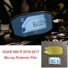 Duque para KTM 690 R 690R 2016 2017 moto de la motocicleta velocímetro de película de protección contra arañazos pantalla Blu-ray Protector nuevo