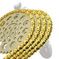 Motorcycle Drive Chain O-Ring 525 For BMW C 650 Sport, GT F 650/700 GS F 800 GS, Adventure (bolt 8,5mm) LINKS 120 Motorbike