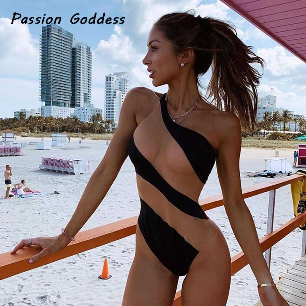 Playa de las mujeres Sexy malla Patchwork monos mamelucos transparente fiesta monos cuerpo Femme Longue mono Bodycon
