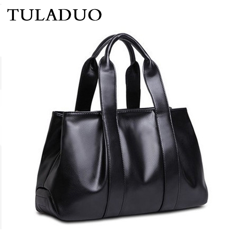 ФОТО Tuladuo Woman Luxury England Style Leather Handbag Sac Famous Brand Crossbody Shoulder Bag Bolsos Female Solid Vintage Tote Bag