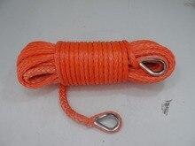 Darmowa wysyłka 12mm * 40 m syntheitic liny wciągarki, wciągarki łódź liny, kabel winch dla hydraulic winch, telewizor plazmowy liny