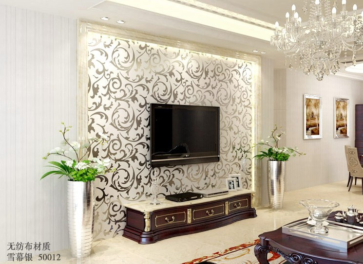 Us 3193 10 Offfree Shipping Luxury Gold Wallpaper Short Thickened Wallpaper Living Room Tv Background Wall Custom Mural Stereo Wallpaper In