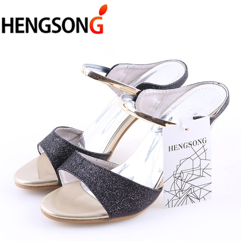 High Heels Sexy Sandals Women Summer High Heels Fashion Shallow Fish Mouth Sandals Open Toe Slip On Bright Color Shoes Female women sandals 2017 summer gauze high heeled shoes lace fish mouth women sandals fashion summer ankle boots s069