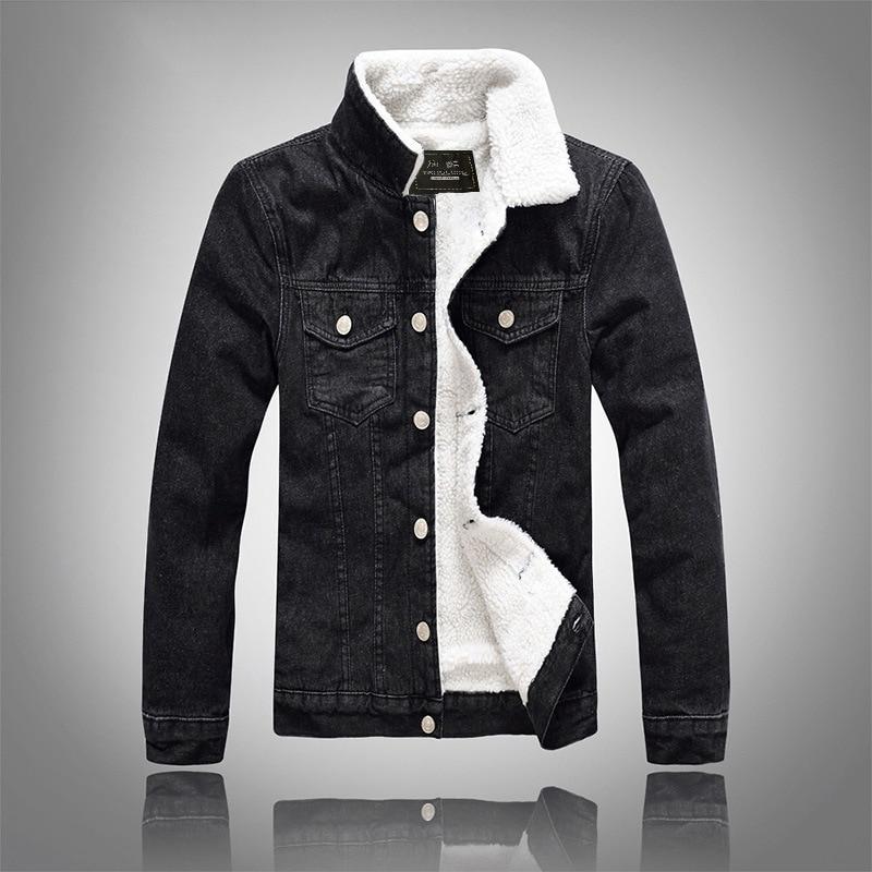 2019 High-grade Jean Jackets Men's Fashion Jacke Warm Waistcoat Cotton Casual Denim Top Coat Ripped Slim Fit Male Cowboy Clothes