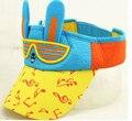 2016, лето, новый cap дети детский солнце бесплатно Козырьки шляпа солнца маленький кролик бейсболка оптовая