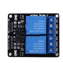 2-way relay module 5V 12v 24V with optocoupler protection