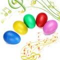 Plástico Maracas Percussão Shakers Ovo Musical para Crianças Grandes Brinquedo Aprendizagem Precoce Presente Do Divertimento