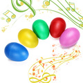 Plastic Percussion Maracas Shakers Musical Egg Great Children Early Learning Toy Fun Gift