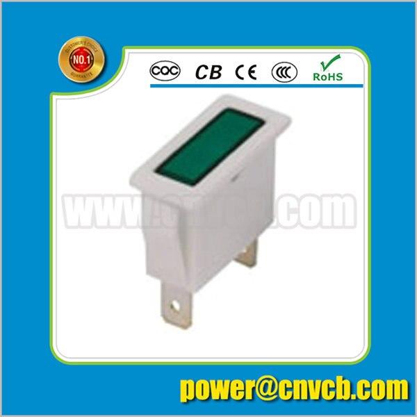 ZS99 square pilot light 2 pin CE ROHS square indicator lamp indicator light