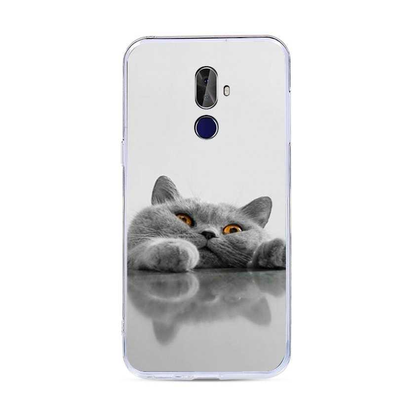 Coque pour Cubot X18 Plus housses pour Cubot X 18 Plus X18Plus housse Silicone peinture mignon chat chien Animal fleur à motifs