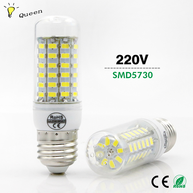 SMD5730 20W 15W 13W 12W 7W 5W 3W Ampoule Led Corn Bulb E27 220V Outdoor Bombillas Led Light Blub Lamparas Led Energy Saving Lamp high power 12v led bulb smd 5730 portable led lamp outdoor camp tent night fishing hanging light lamparas 3w 5w 7w 9w 12w