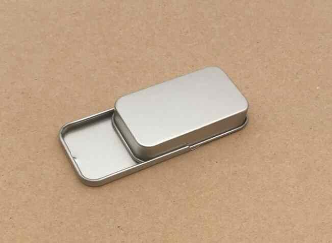 Süßigkeiten Schmuck Zinn Schmuck Eisen Schlüssel Münze Metall Aufbewahrungsbox
