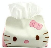 Cartoon Tissue Boxes Household Extraction Facial Tissue Paper Holder