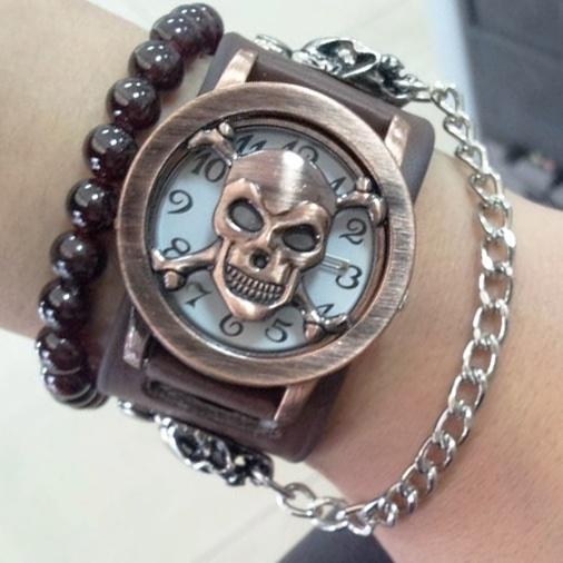 Men's Skull Stylish Fashion Watch