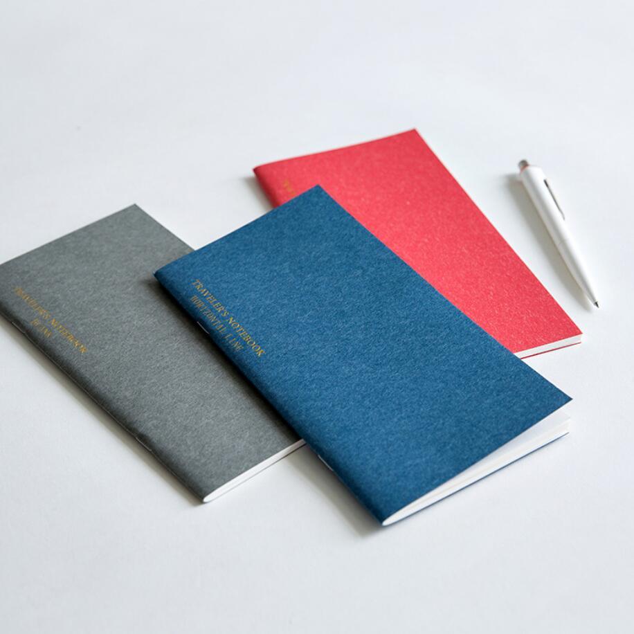 """Mermaid TN Papers"" Pack of 3 Inside Papers Lined Grid Blank Papers for MMC Mermaid Traveler Notebook"
