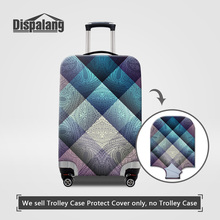 Dispalang Anti-dust Travel Luggage Suitcase Protective Cover For 18-30 Trunk Case Plaid Patterns Women thicker Rain Dust Covers