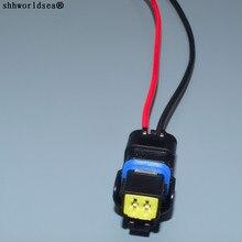 Shhworld Sea 2 Pin/Way Женский светильник разъем для лампы датчик температуры воды штекер с проводом косичка для Renault peugeot Citroen