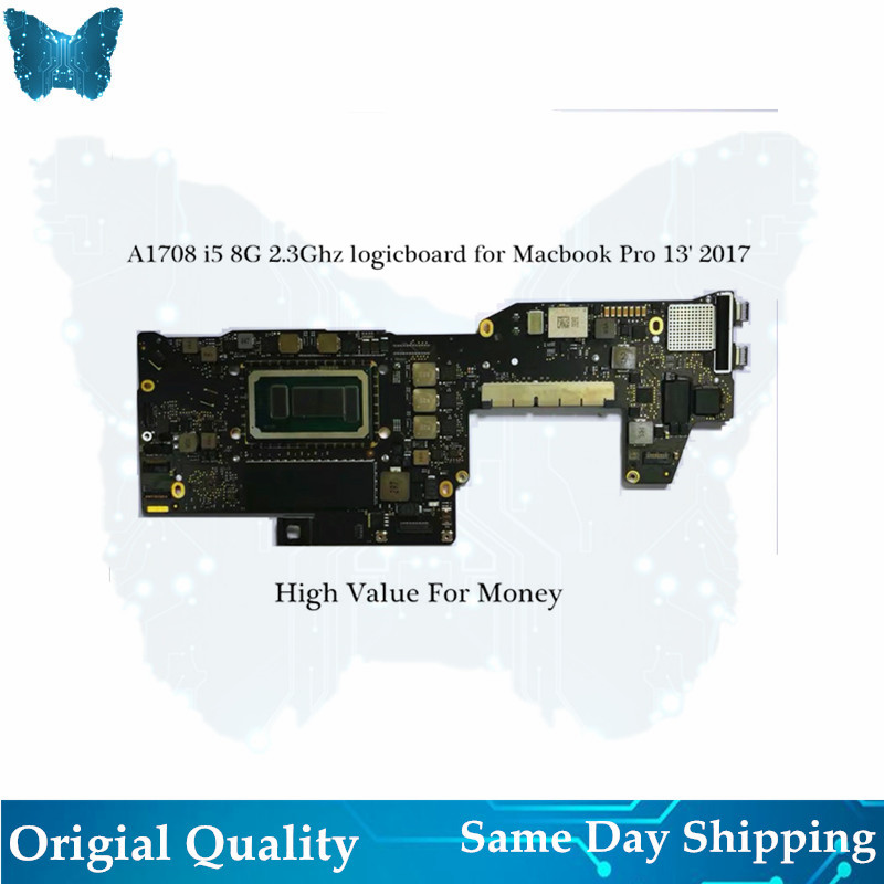 Wholesale Original  Logic Board  A1708 Motherboard For Macbook Pro 13' Mainboard 2.3ghz  I5 8G  2017-2018 820-00840