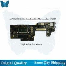 Wholesale Original logic board A1708 Motherboard for Macbook Pro 13′ mainboard 2.3ghz i5 8G 2017-2018 820-00840