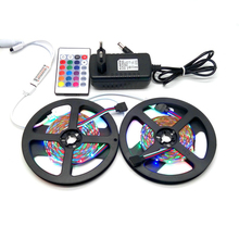 10M LED Strip Set SMD 3528 RGB With 24Keys IR Controller With12V 3A Power Supply Adapter