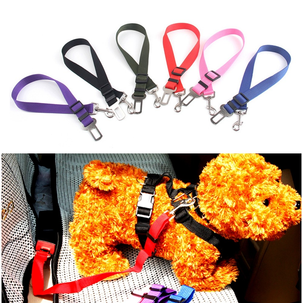 Newest!!!  Pet/dog Car Travel Safety Seat Belt Clip Lead Adjustable Safety Harness Auto Traction #3
