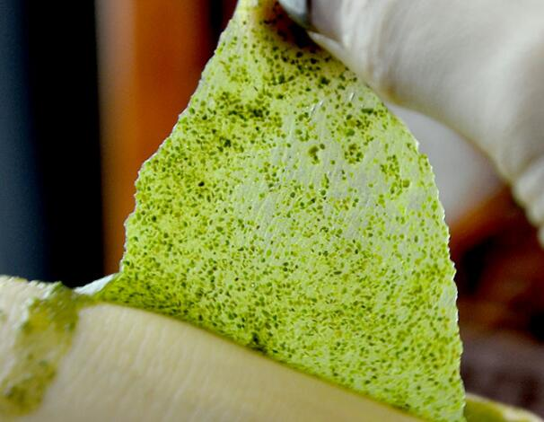 Green grass oxygen fairyland plant mask brighten white water deep clean remove acne black head 1g 5 pacs/500g