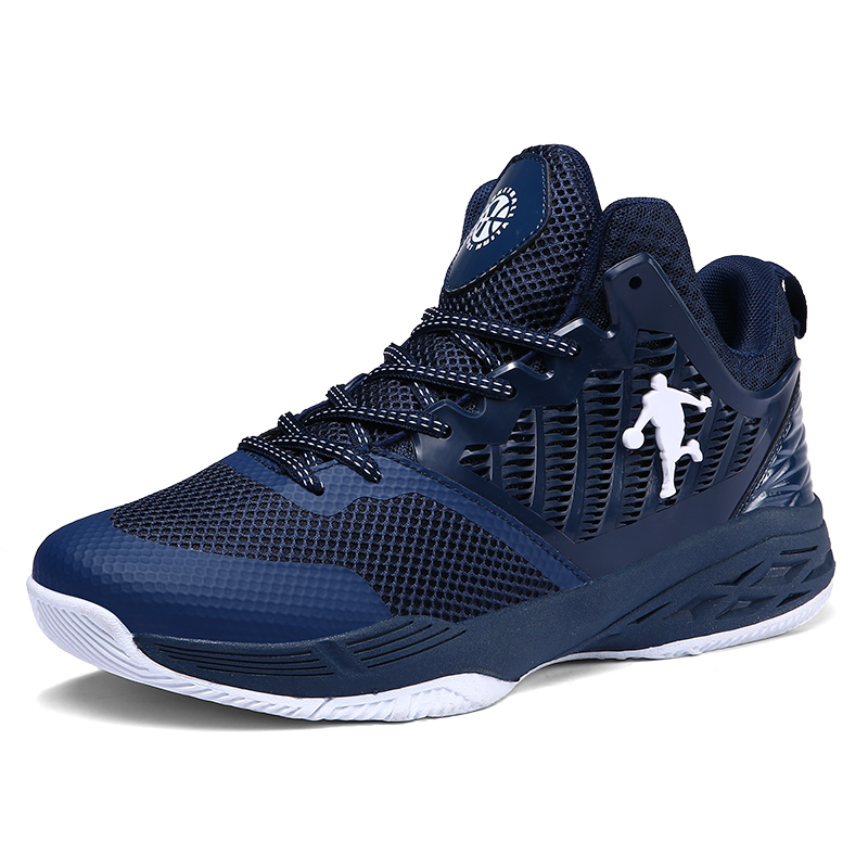 US $19.95 45% OFF Professional Basketball Shoes Men Size 35 46 High top Cushioning Basketball Sneakers Mens Shockproof Sport Shoes Outdoor Unisex in