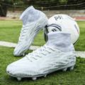 Новое поступление футбольная обувь высокие ботильоны футбольные бутсы FG Superfly TF Детские уличные бутсы спортивные кроссовки