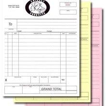 Печать на заказ A5 145X210 мм квитанция счет-фактура заказ на работу 2-5 части копировальные наборы пронумерованные квитанции/счета-фактуры/книги по продажам