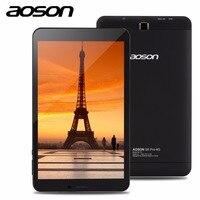 Thương hiệu Aoson Pro S8 Pro 8 inch 4 Gam Cuộc Gọi Điện Thoại Tablet HD IPS 800*1280 Android 6.0 16 GB ROM 1 GB RAM SIM GPS WIFI phụ kiện máy tính bảng