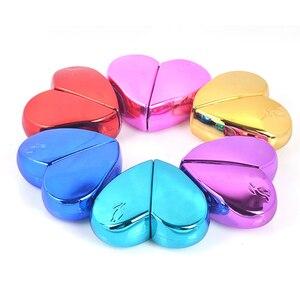 Image 1 - MUB flacon de Parfum en forme de cœur en verre avec pompe dair, atomiseur de Parfum pour femme, flacon vide, récipients cosmétiques, voyage 20ml