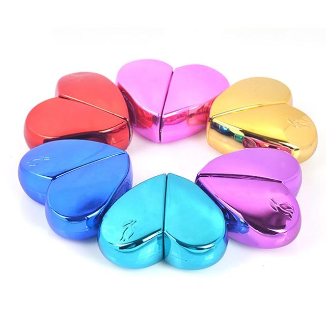 MUB flacon de Parfum en forme de cœur en verre avec pompe dair, atomiseur de Parfum pour femme, flacon vide, récipients cosmétiques, voyage 20ml