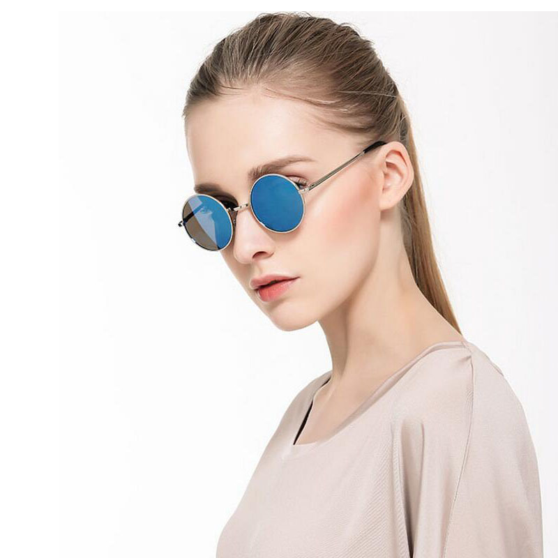 HTB1jQrsdmfD8KJjSszhq6zIJFXa5 - FREE SHIPPING Polarized sunglasses vintage sunglass round sunglasses Black Lens JKP412